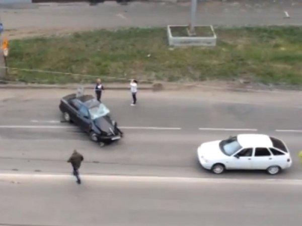 """В Кургане лихач на иномарке протаранил """"Приору"""": погибли пять человек"""