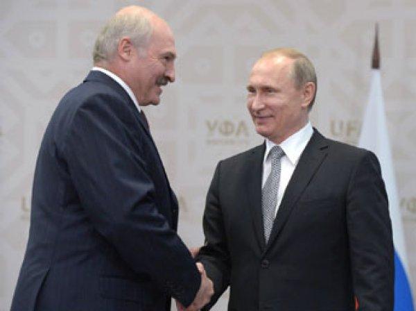 Лукашенко попросил у Путина кредит на  млрд