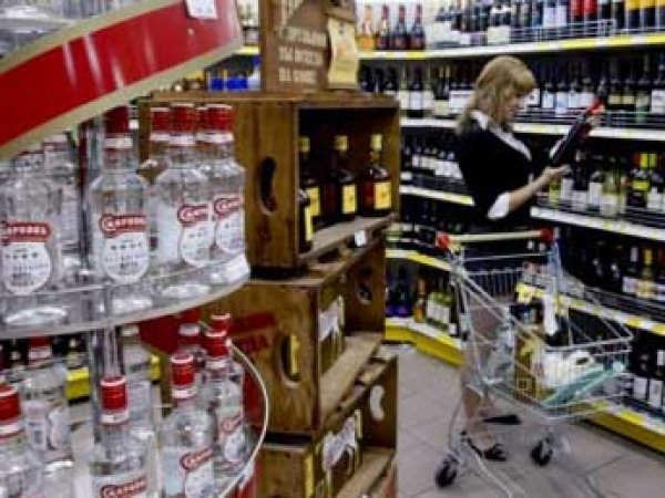 Статистика: россияне впервые стали покупать меньше водки