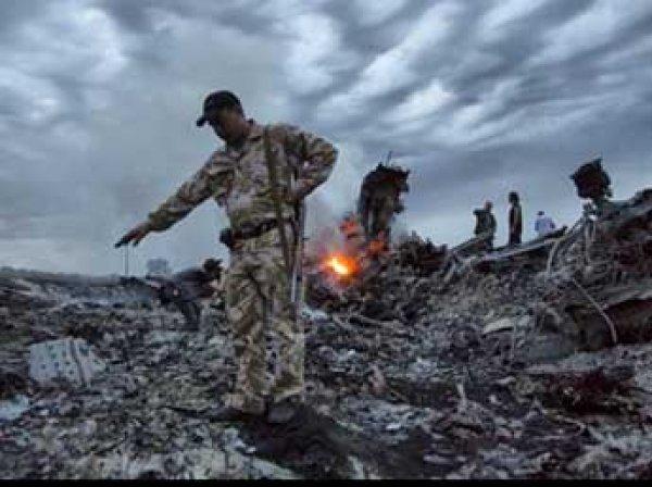 """Крушение Boeing под Донецком: в СМИ попало видео ополченцев с места крушения """"Боинга"""" (видео, фото)"""