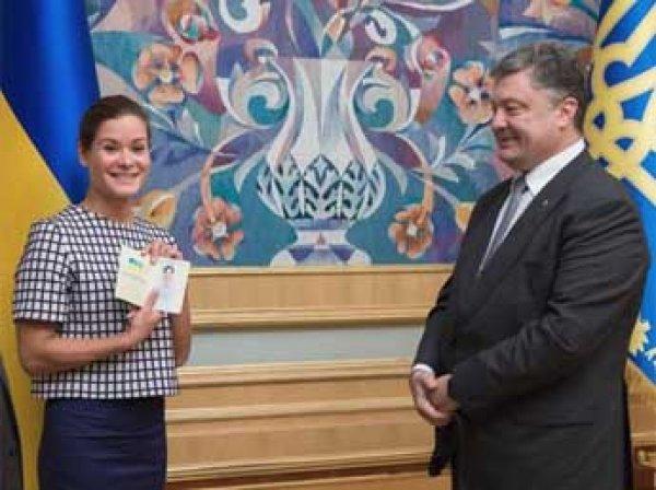 Порошенко предоставил Марии Гайдар гражданство Украины