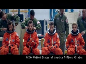 One Direction ��� ��������� NASA ������ 10 ��������� ���������� �� YouTube