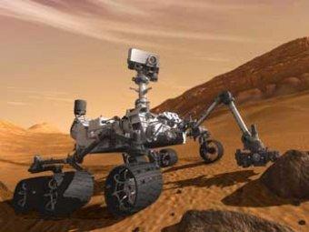 """Марсоход Curiosity заснял на Красной планете """"гигантского краба"""" и фигуру женщины"""