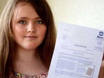 Юная британская школьница по уровню IQ превзошла Хокинга и Эйнштейна