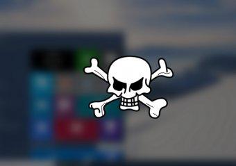 Windows 10 мошенники подменяют трояном-вымогателем (фото)
