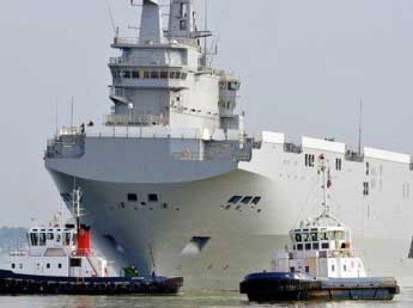 Франция перевела России более €1 млрд за «Мистрали»