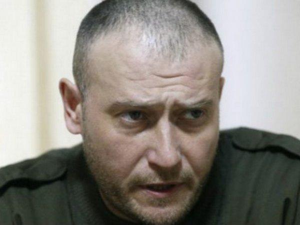 """СМИ сообщили о госпитализации лидера """"Правого сектора"""" Яроша"""