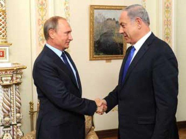 СМИ: Путин и премьер Израиля Нетаньяху договорились по военным в Сирии