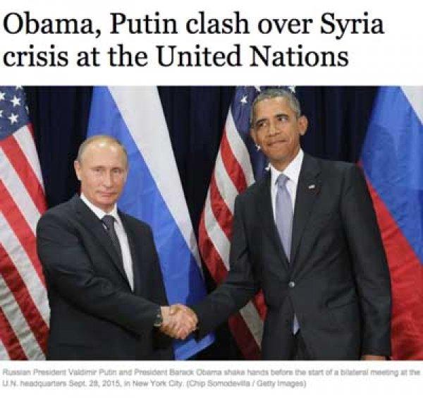 Мировые СМИ назвали выступление Путина и Обамы в ООН дуэлью
