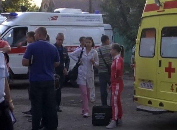 Стрельба в Симферополе на станции скорой помощи: двое погибших (фото)