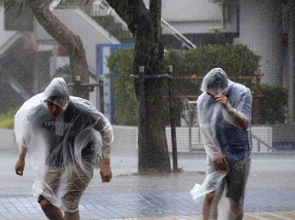 На Японию обрушился сильнейший тайфун