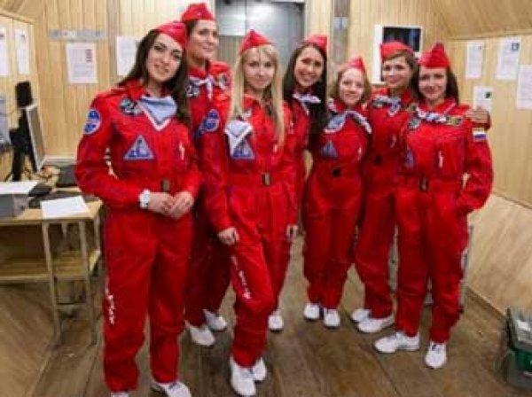 Шесть москвичек отправили в земной полет на Луну