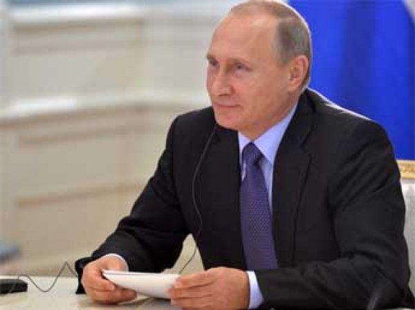 Рейтинг Путина на фоне спецоперации в Сирии побил исторический рекорд