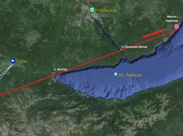 В километре от берега в Байкал упал метеорит (видео)