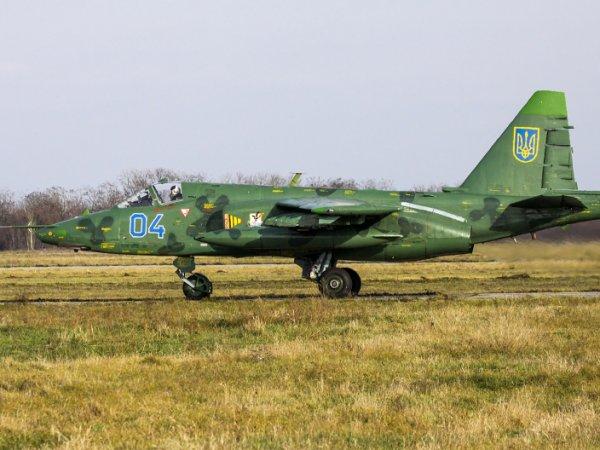 Украинский военный самолёт разбился в Запорожской области