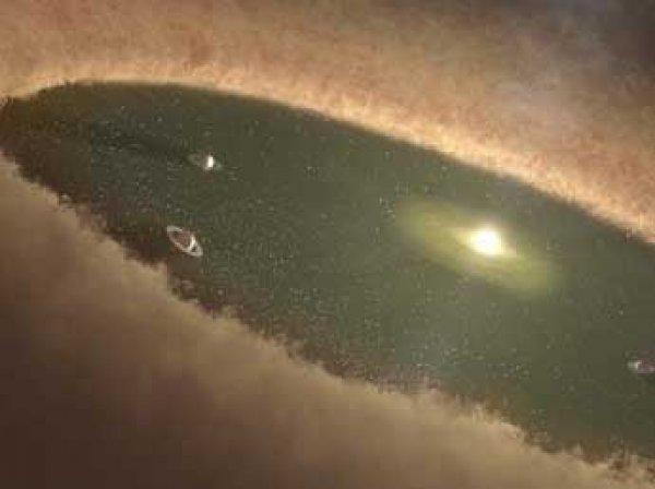 Ученым впервые удалось заснять зарождение планеты