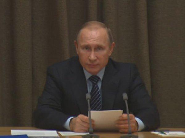 Путин: Россия не втягивается в гонку вооружений, а наверстывает упущенное
