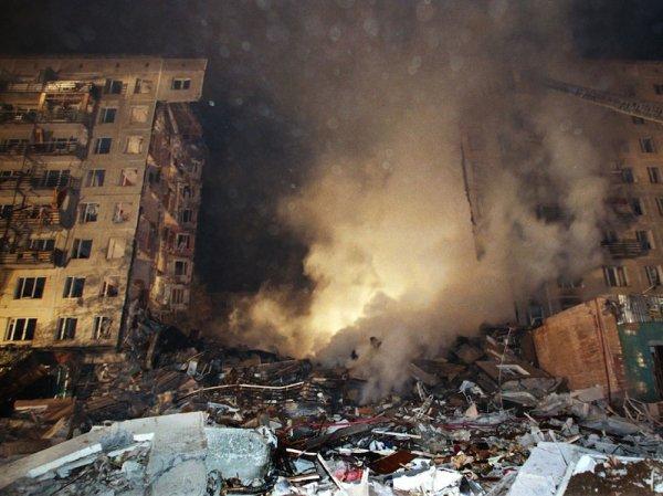 Фото взорвавшихся домов