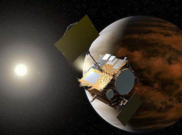 Японский астронавт обнародовал фото Венеры из космоса на фоне ночных огней Земли