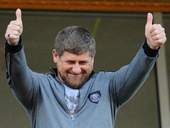 Кадырова оштрафовали за езду с непристегнутым ремнем безопасности