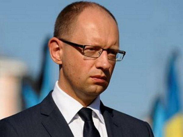 Яценюк: Украина готова отказаться от санкций против России