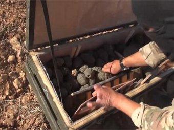 В Южном пригороде Дамаска боевики ИГИЛ сдают оружие