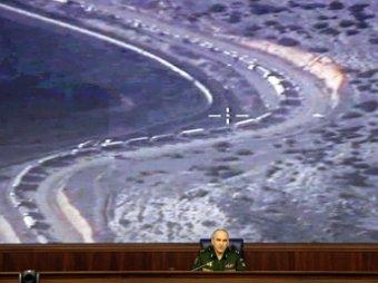 Генштаб РФ показал фото и видео тысяч бензовозов ИГИЛ по пути в Турцию