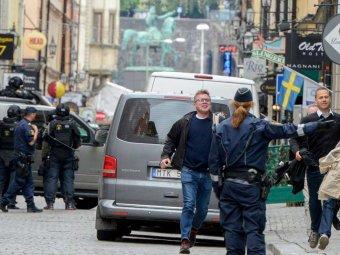 Неизвестный устроил взрыв в ресторане Стокгольма