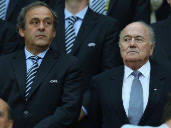 Блаттера и Платини на 8 лет отстранили от футбола