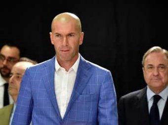 Зидан официально стал новым тренером мадридского «Реала»