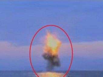 КНДР опубликовала видео испытаний пуска ракеты с подводной лодки