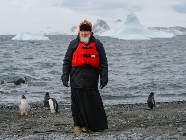 Патриарх Кирилл рассказал о ЧП на борту самолета во время полета в Антарктиду