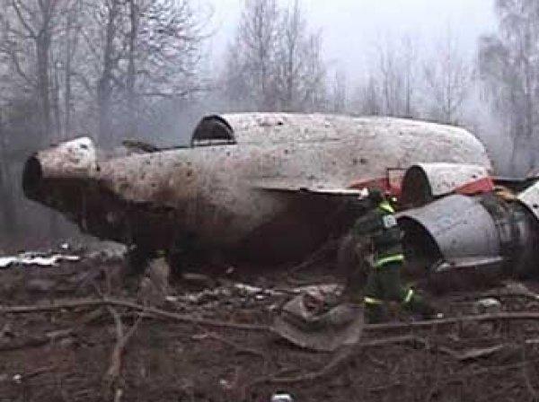 Польша заново расследует крушение самолета президента Качиньского под Смоленском