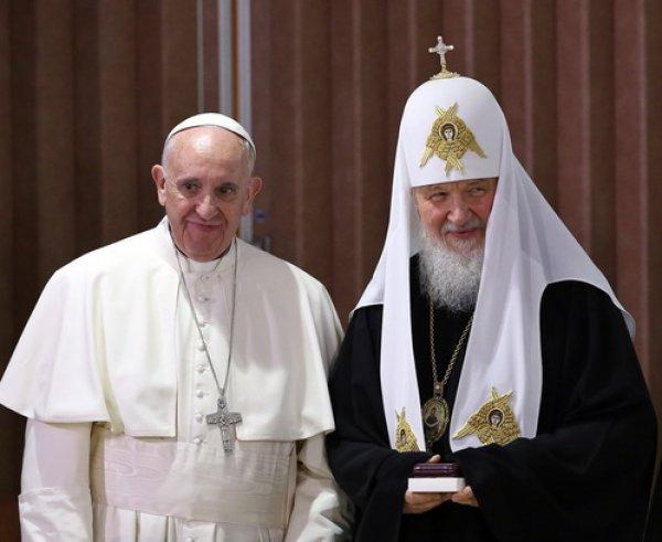 Встреча Патриарха и Папы Римского в Гаванне завершилась подписанием декларации