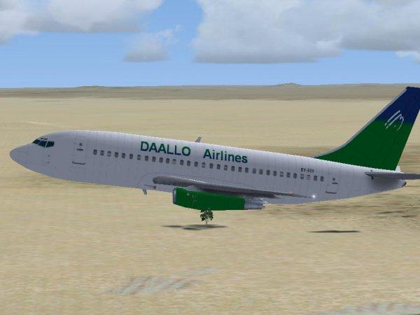 В Сомали из-за взрыва на борту экстренно сел самолёт