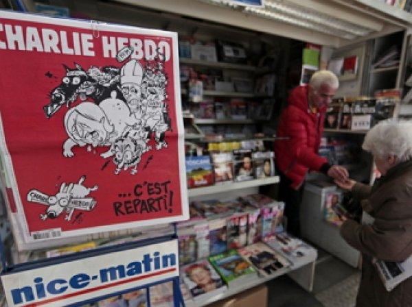 На сайте Charlie Hebdo появилась карикатура на теракт в Брюсселе