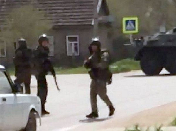 Установлены личности смертников, атаковавших отдел полиции боевиков