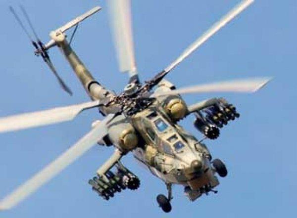Российский боевой вертолет Ми-28Н разбился в Сирии, летчики погибли
