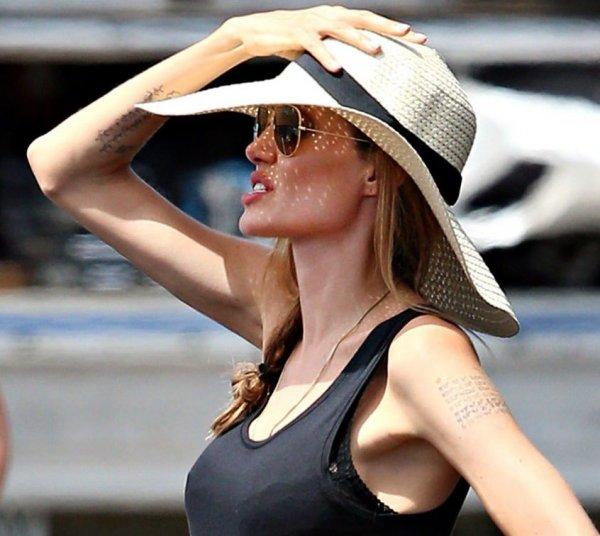 Анджелина Джоли, последние новости 17 апреля: появились ... анджелина джоли новости