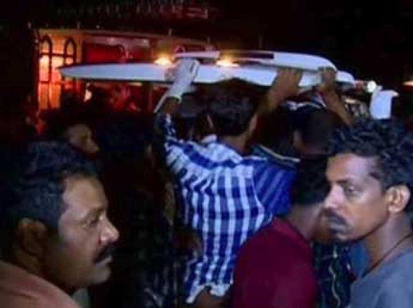 В результате пожара в Индии погибли свыше 100 человек (видео)