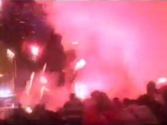 Салют в Дзержинске попал в толпу на день города 2016: погибла женщина (ВИДЕО)