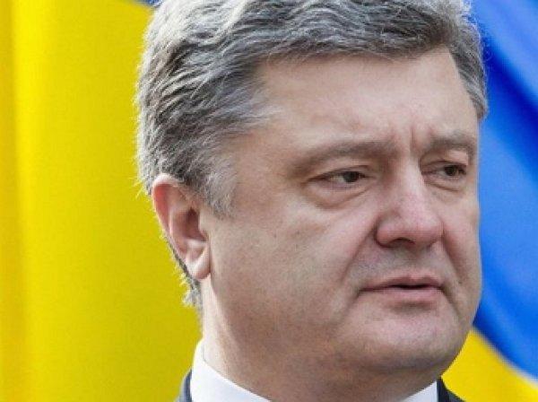 Порошенко поступило предложение изменить цвета флага Украины