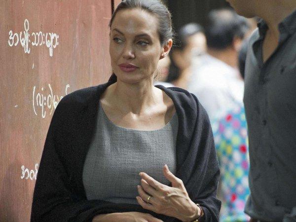 Анджелина Джоли, последние новости о здоровье 2016: папарацци засняли истощенную и бледную актрису в США (ФОТО)