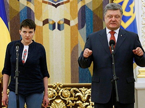 Савченко призвала россиян «встать с колен»