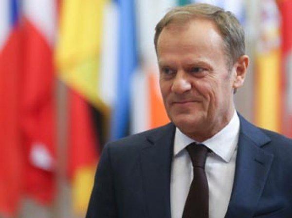 Председатель Евросовета Туск заявил о продлении санкций против РФ