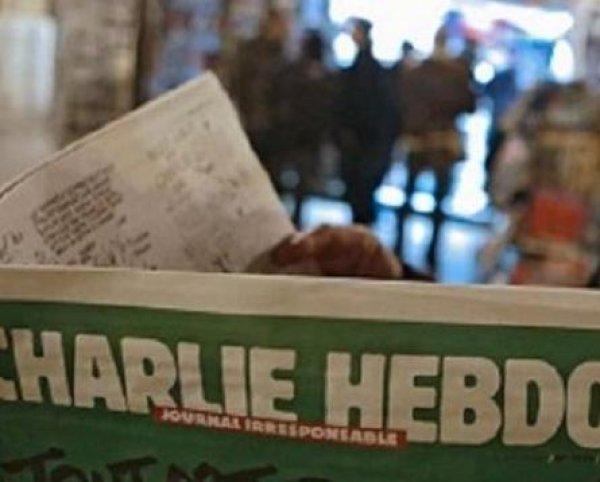 Charlie Hebdo высмеяли российских болельщиков карикатурой