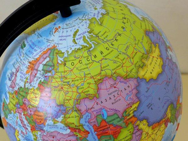 В Белоруссии из магазинов изъяли глобусы с российским Крымом