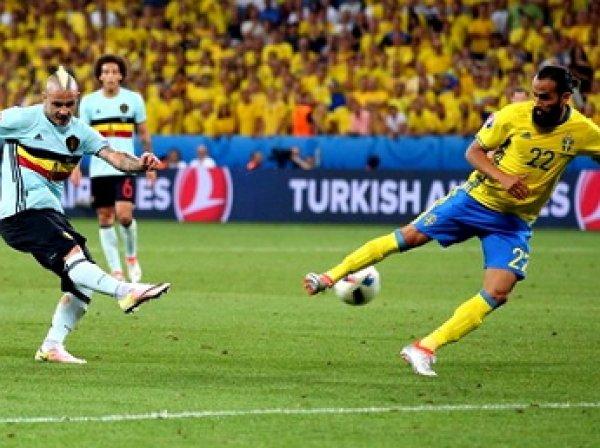 Швеция – Бельгия, счет 0:1: обзор матча, видео голов(ВИДЕО)