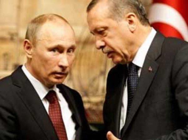 Путин договорился с Эрдоганом о возврате Турции российским туристам