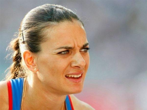 Елену Исинбаеву отстранили от Олимпиады из-за проживания в России